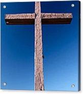 Mountain Cross Acrylic Print
