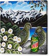 Mountain Dew Acrylic Print