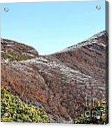Mountain Frost Acrylic Print