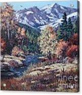 Mountain Glory Acrylic Print by W  Scott Fenton