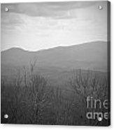 Mountain Grey Acrylic Print
