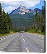 Mountain Highway Acrylic Print