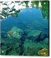 Mountain Lagoon Acrylic Print