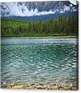 Mountain Lake Acrylic Print by Elena Elisseeva