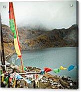 Mountain Lake Gosaikunda Himalayas Acrylic Print