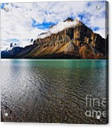 Mountain Lake Scenic Acrylic Print by George Oze