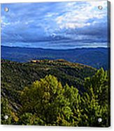 Mountain  Landscape Acrylic Print by Stefano Piccini