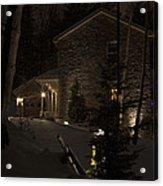 Mountain Lodge Acrylic Print