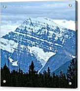 Mountain Meets The Sky Acrylic Print