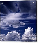 Mountain Of Clouds Acrylic Print
