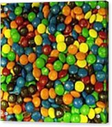 Mountain Of M And M's Acrylic Print