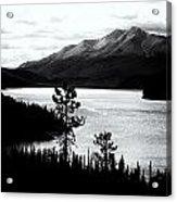 Mountain Outline Acrylic Print