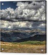 Mountain Panorama Acrylic Print