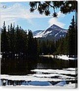 Mountain Peak Acrylic Print