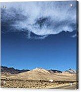 Mountain Range Of Sierra Nevada Acrylic Print