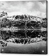 Mountain Reflection Acrylic Print by Dave Bowman