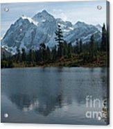 Mountain Reflection Acrylic Print