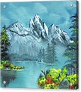 Mountain Retreat Acrylic Print