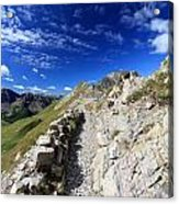 Mountain Ridge Acrylic Print