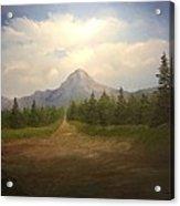 Mountain Run Road  Acrylic Print