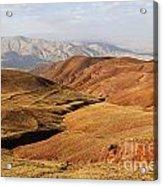 Mountain Scenary Near Zanjan In Iran Acrylic Print