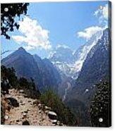 Mountain Scene  Acrylic Print