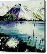 Mountain Serenity Acrylic Print