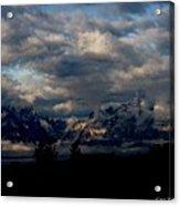 Mountain Silhouette Acrylic Print