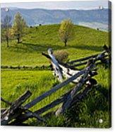 Mountain Spring Acrylic Print