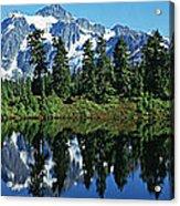 Mountain Springtime Acrylic Print