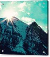 Mountain Starburst Acrylic Print