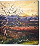 Mountain Sun Acrylic Print