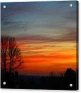 Mountain Sunset 3 Acrylic Print
