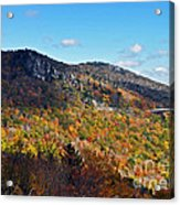 Mountain View From Linn Cove Viaduct Acrylic Print