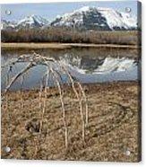 Aboriginal Sacred Sweat Lodge - Waterton Lakes Nat. Park, Alberta Acrylic Print