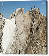 Mountaineers, French Alps Acrylic Print
