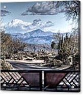 Mountainous Splendor Acrylic Print