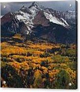 Mountainous Storm Acrylic Print