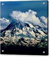 Mountainpuffs Acrylic Print