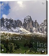Mountains And Valleys Acrylic Print