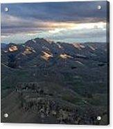 Mountains At Sunset Acrylic Print
