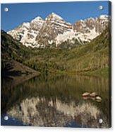 Mountains Co Maroon Bells 7 Acrylic Print