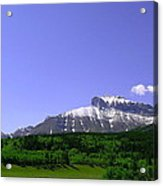 Mountains Crowsnest Acrylic Print