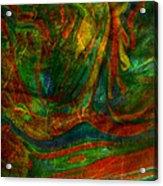 Mountains In The Rain Acrylic Print