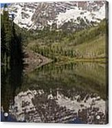 Mountains Maroon Bells 11 Acrylic Print
