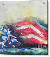 Mountains Of Freedom Acrylic Print