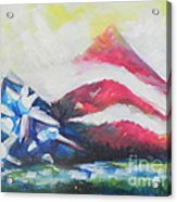 Mountains Of Freedom Two Acrylic Print