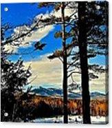 Mountains Rising Acrylic Print