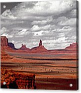 Mountains, West Coast, Monument Valley Acrylic Print