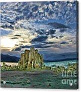 Mountain High At Mono Lake Acrylic Print